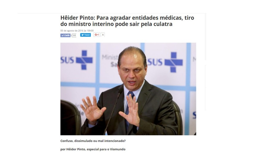 Mais Médicos: governo Temer prejudica médicosbrasileiros