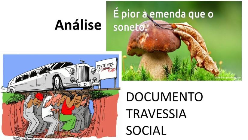 """Análise da """"Travessia Social"""", documento de propostas para a área social do GovernoTemer"""