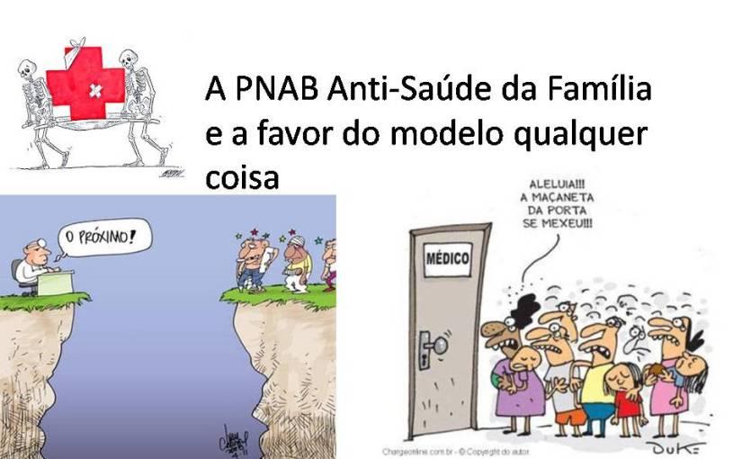 """A PNAB """"anti-saúde da família"""" de Temer/Barros e um retrocesso de mais de 23anos"""