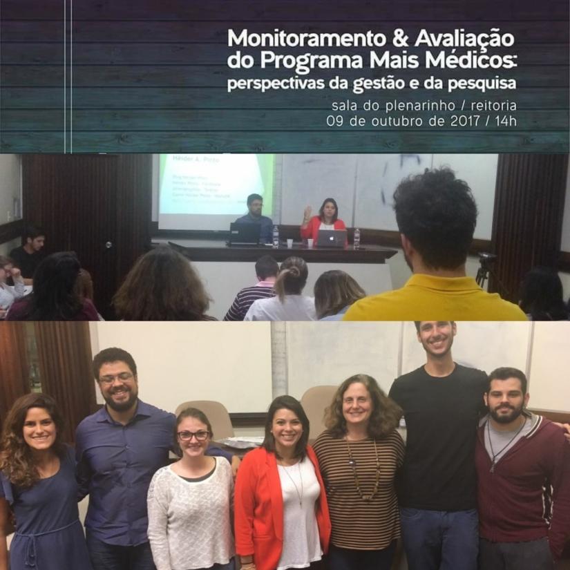 O monitoramento e a avaliação no Programa MaisMédicos