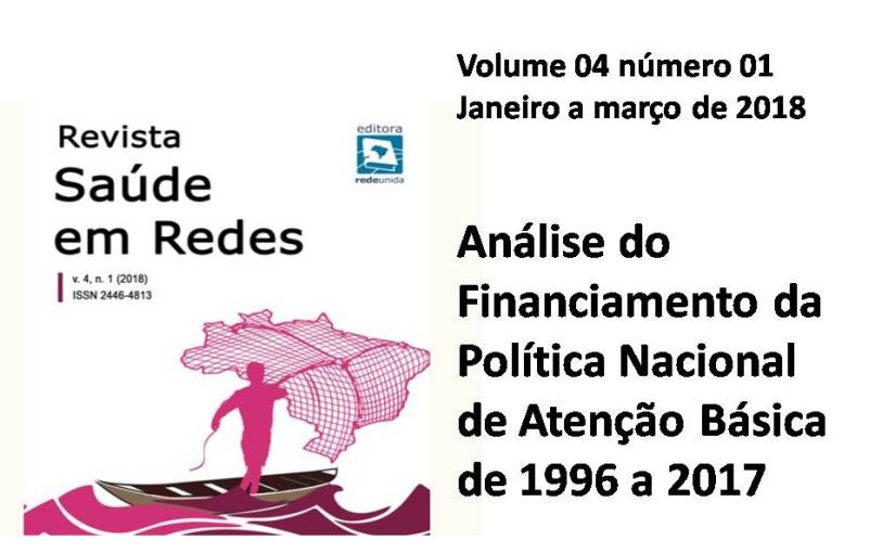 Artigo: Análise do Financiamento da Política Nacional de Atenção Básica de 1996 a2017